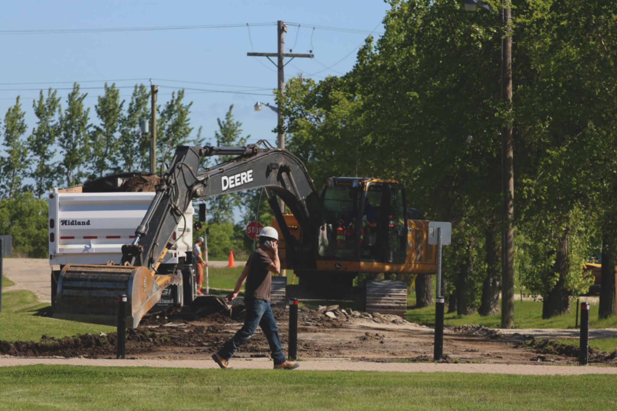 Construction projects a highlight of Spring and Summer at Providence Image