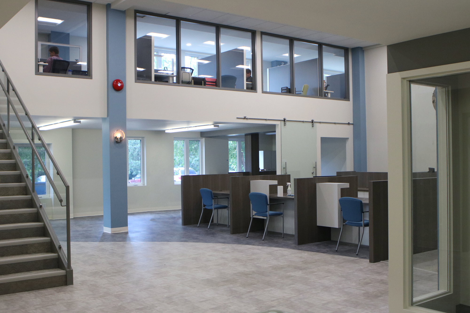 Providence employees move into completed Welcome Centre Image