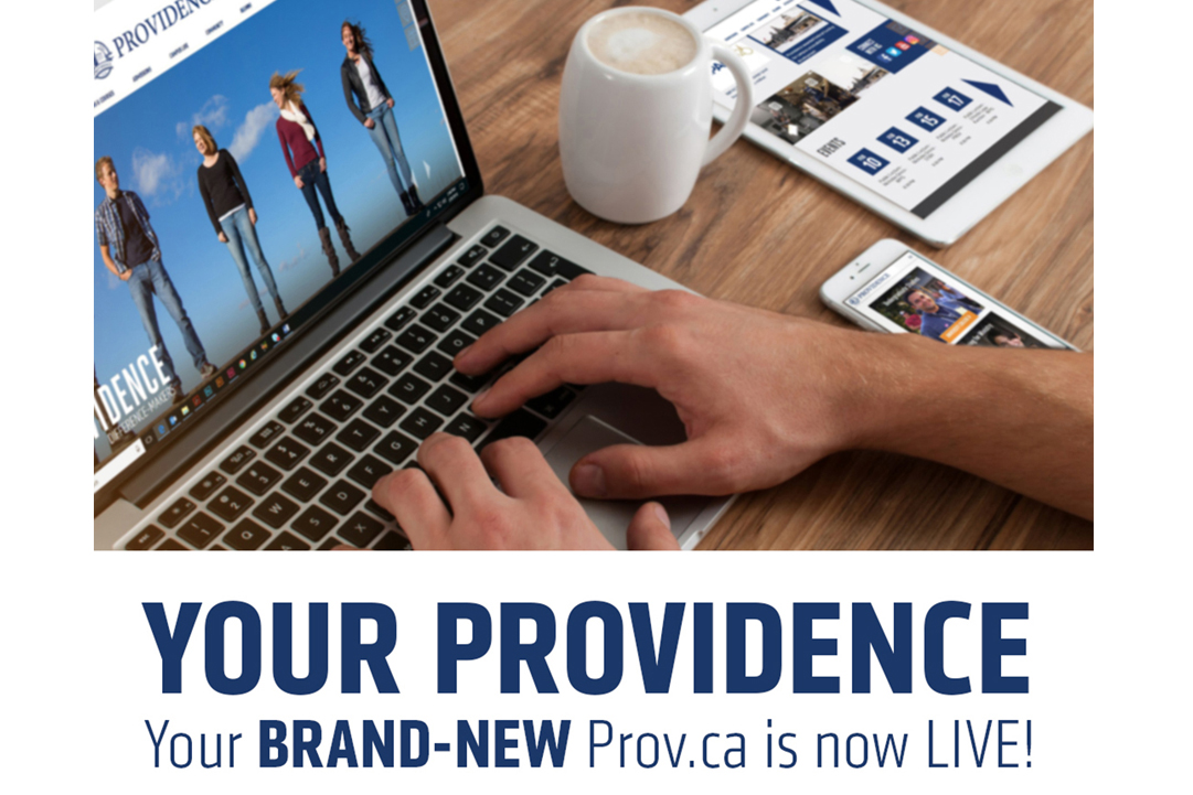 Brand-new PROV.ca tells the Providence story in modern, mobile-friendly and easily navigable format Image